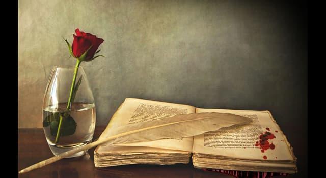 Cultura Pregunta Trivia: ¿Qué artista compuso toda su obra poética antes de los diecinueve años, para vagar luego por el mundo?