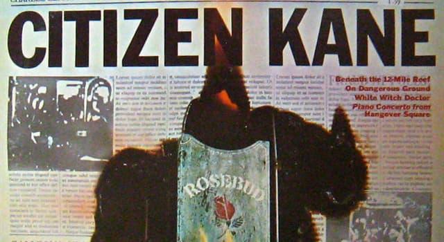 Películas Pregunta Trivia: ¿Qué artista dirigió y protagonizó al mismo tiempo la película Citizen Kane (El Ciudadano Kane)?