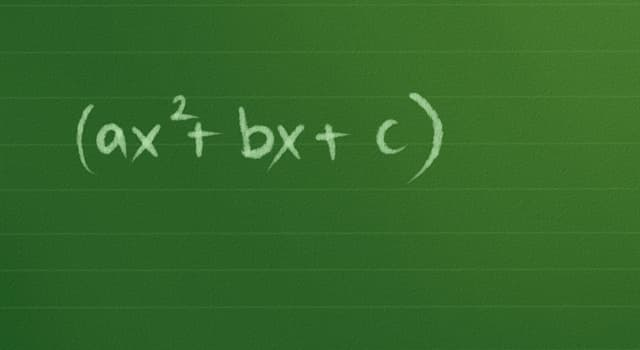 Сiencia Pregunta Trivia: ¿Qué es una ecuación cuadrática?