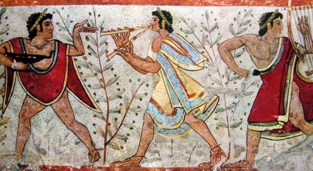 Historia Pregunta Trivia: ¿Qué escritor fue el primero en mencionar a los etruscos?