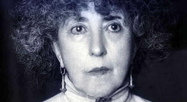 Cultura Pregunta Trivia: ¿Qué escritora española fue candidata en tres ocasiones al Nobel de Literatura?