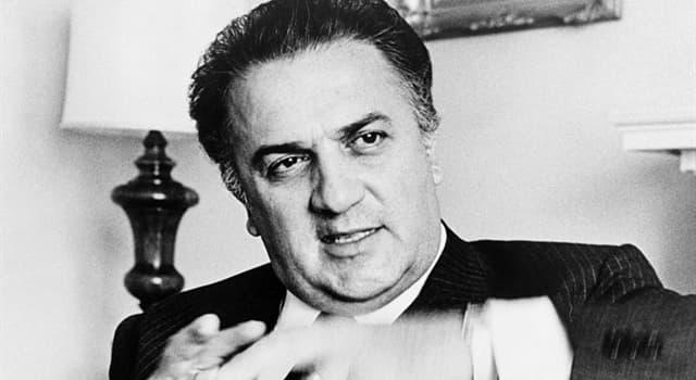 Películas Pregunta Trivia: ¿Qué película filmó el director Federico Fellini en 1968 relacionada con el mundo romano clásico?