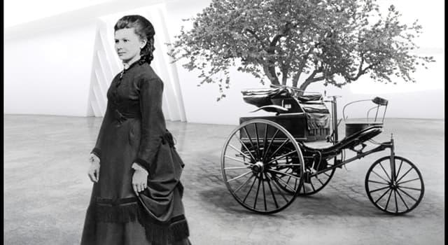 Cultura Pregunta Trivia: ¿Qué mujer manejó un automóvil por primera vez, en un viaje de más de 100 kilómetros?