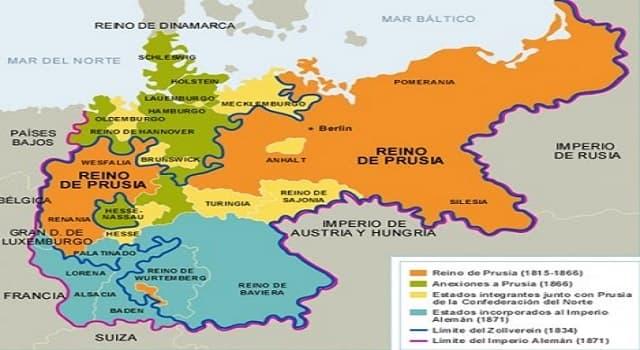 Historia Pregunta Trivia: ¿Qué personaje dirigió la unificación de Alemania a mediados del siglo XIX?