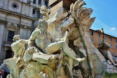 Cultura Pregunta Trivia: ¿Qué ríos del mundo están alegóricamente representados en La Fuente de los Cuatro Ríos ubicada en Roma?