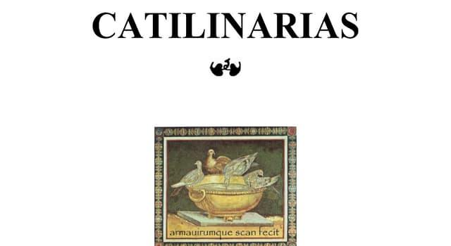 "Cultura Pregunta Trivia: ¿Quién pronunció los discursos ""las Catilinarias""?"