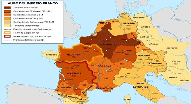 Historia Pregunta Trivia: ¿Cuál fue una de las causas de por qué se desintegró el imperio Carolingio?