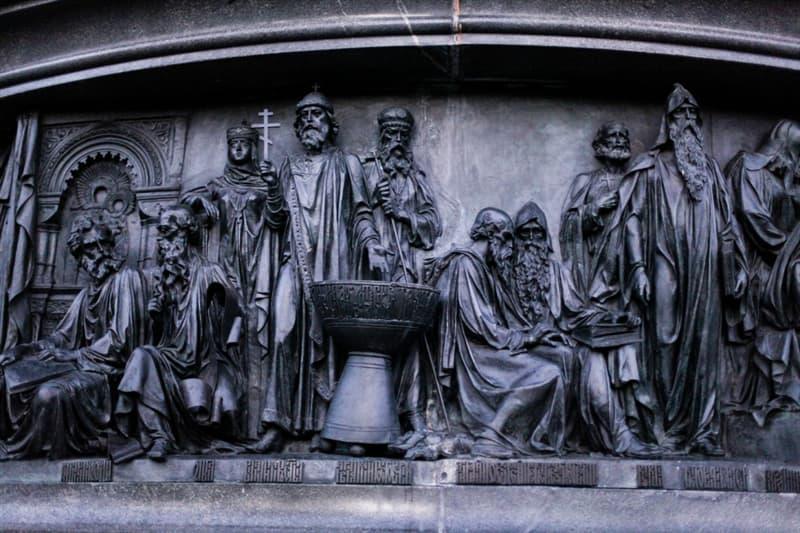 """Культура Запитання-цікавинка: В якому місті знаходиться пам'ятник """"Тисячоліття Росії""""?"""