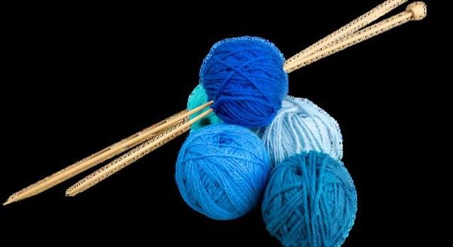 Kultura Pytanie-Ciekawostka: Skąd pochodzi robienie na drutach?