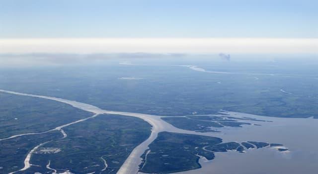 Geografia Pytanie-Ciekawostka: Która rzeka ma największą deltę na świecie?