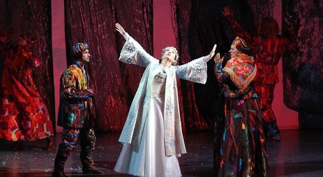 """Kultura Pytanie-Ciekawostka: Który rosyjski kompozytor napisał muzykę do opery """"Śnieżna dziewczyna""""?"""