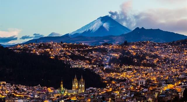 Geografia Pytanie-Ciekawostka: Jakie państwo Ameryki Południowej graniczy wyłącznie z Kolumbią i Peru?