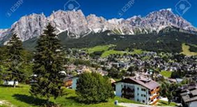 """Geografía Pregunta Trivia: ¿A qué famoso centro de esquí se lo denomina """"la perla de los Dolomitas?"""