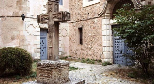 Cultura Pregunta Trivia: ¿A qué hace referencia la leyenda de la Cruz del Diablo, en Cuenca?