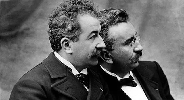 Cultura Pregunta Trivia: ¿A qué se dedicaron los hermanos Lumière?