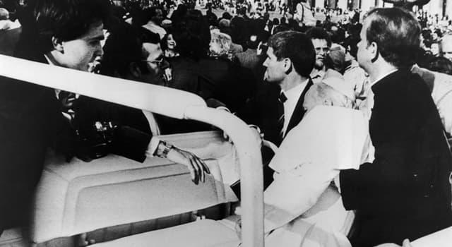 historia Pytanie-Ciekawostka: Na którego papieża podjęto próbę zamordowania w 1981 roku?