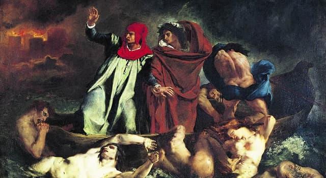 """Культура Запитання-цікавинка: Що з перерахованого не є однією з трьох частин """"Божественної комедії"""" Данте Аліг'єрі?"""