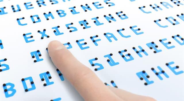 Historia Pregunta Trivia: ¿Cómo se llamó el primer libro en braille?