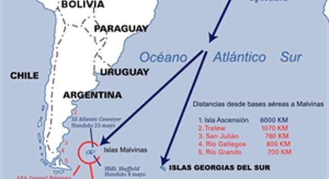 """Historia Pregunta Trivia: ¿Cuánto duró el """"Conflicto del Atlántico Sur"""" (Guerra de las Malvinas)?"""
