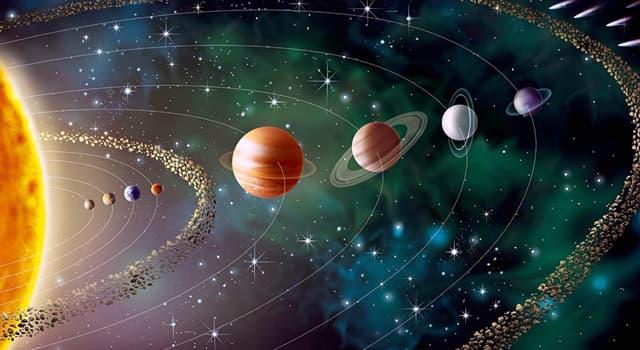 Сiencia Pregunta Trivia: ¿Cuál es el único planeta que posee una rotación diferente a la de los demás?