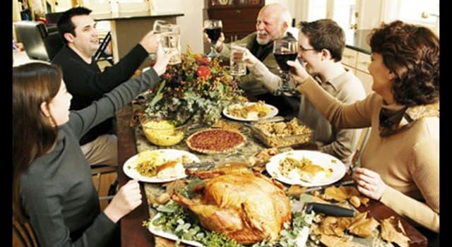 """Cultura Pregunta Trivia: ¿Cuál es el origen del """"Día de Acción de Gracias"""" en EE.UU.?"""
