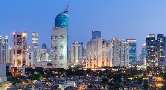 Geografía Pregunta Trivia: ¿Cuál es la capital de Indonesia?