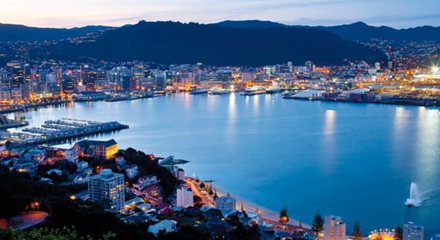 Geografía Pregunta Trivia: ¿Cuál es la capital de Nueva Zelanda?