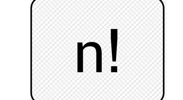 """Сiencia Pregunta Trivia: ¿Cuál es la fórmula matemática que se representa con el signo de exclamación """"!""""?"""