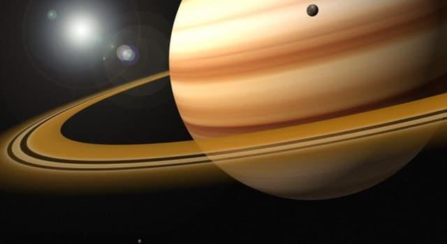 Сiencia Pregunta Trivia: ¿De qué material son los anillos de Saturno?