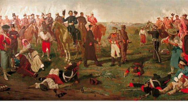 Cultura Pregunta Trivia: ¿En qué año se lleva a cabo la batalla de Las Piedras?