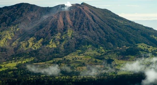 Geografía Pregunta Trivia: ¿En qué país se encuentra el Volcán Poás?