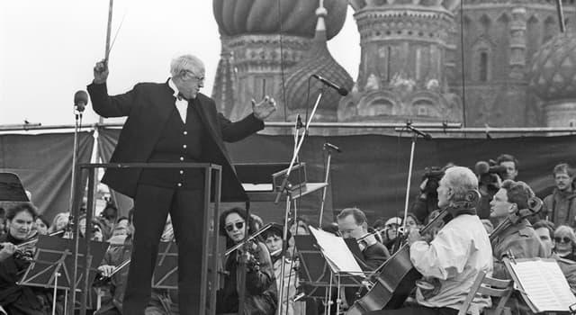 Культура Запитання-цікавинка: Гра на якому музичному інструменті принесла світову славу Мстиславу Ростроповичу?