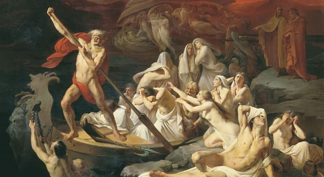 Kultura Pytanie-Ciekawostka: Jak w greckiej mitologii nazywał się przewoźnik zmarłych dusz przez rzekę Styks i Acheron?
