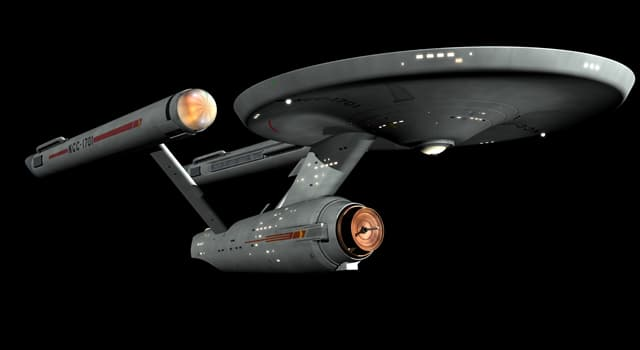 Фільми та серіали Запитання-цікавинка: Як називається вигаданий зореліт з серіалу «Зоряний шлях»?