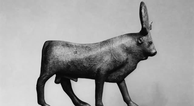 Kultur Wissensfrage: Wie ist der Name des heiligen Stieres in der ägyptischen Mythologie?