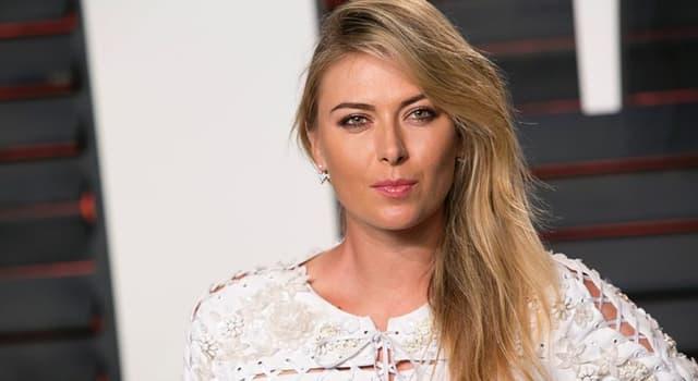 Sport Wissensfrage: Maria Sharapova ist in welchem Sport berühmt?