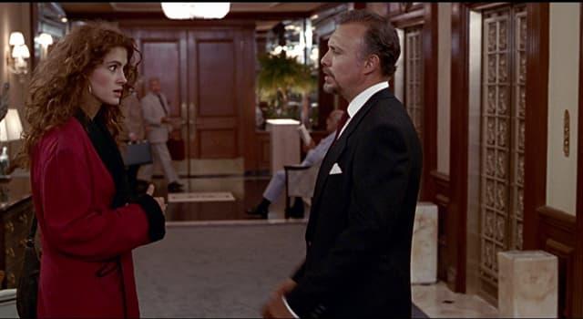 """Фільми та серіали Запитання-цікавинка: Який актор був партнером Джулії Робертс у фільмі """"Красуня""""?"""