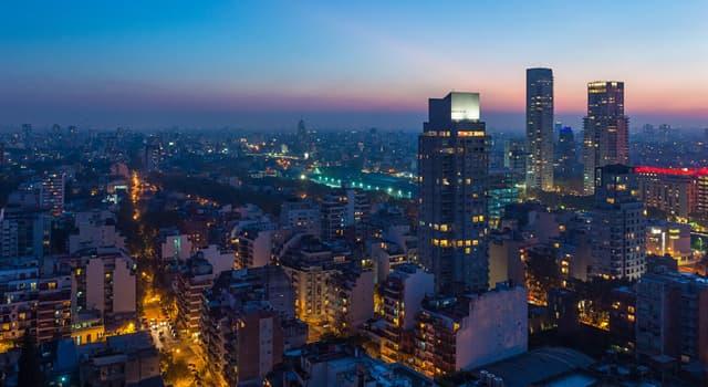 Географія Запитання-цікавинка: Яке місто є столицею Аргентини?