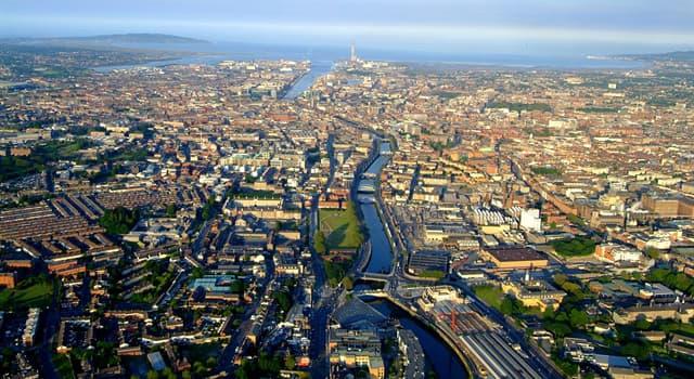 Географія Запитання-цікавинка: Яке місто є столицею Ірландії?