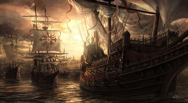 """Історія Запитання-цікавинка: Якій країні належав великий військовий флот """"Непереможна армада""""?"""