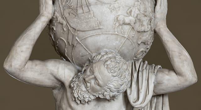 Культура Запитання-цікавинка: Який титан в давньогрецькій міфології тримав на плечах небесне склепіння?