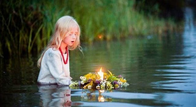 Культура Запитання-цікавинка: Коли відзначають народне свято східних слов'ян Іван Купала?