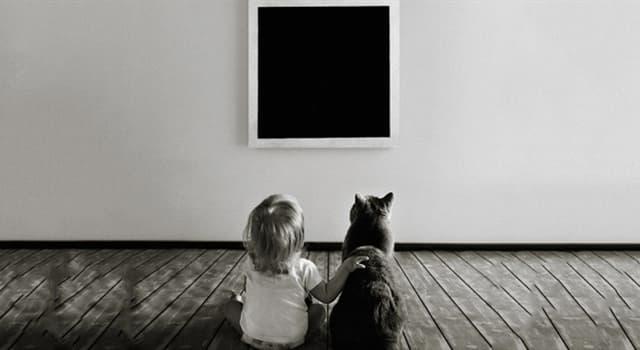 """Культура Запитання-цікавинка: Хто написав картину """"Чорний квадрат""""?"""