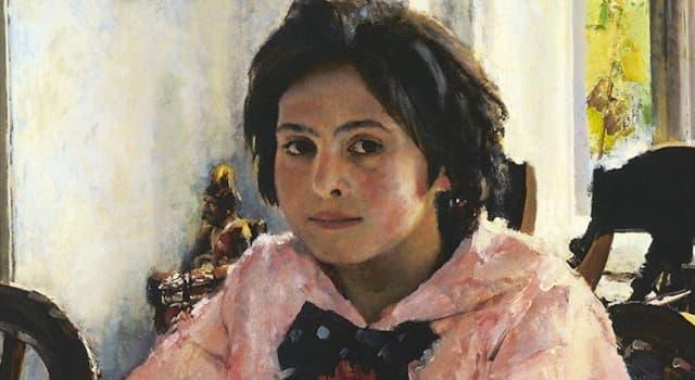 Культура Запитання-цікавинка: Хто написав картину «Дівчинка з персиками»?
