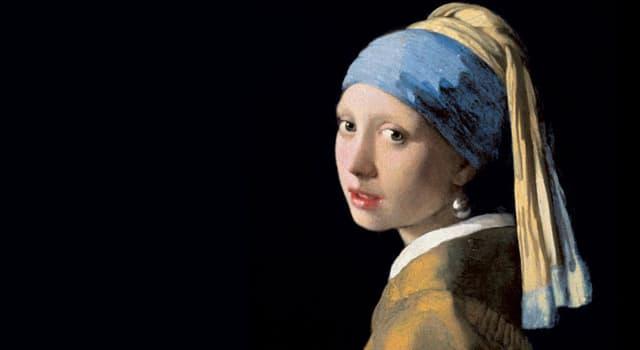 """Культура Запитання-цікавинка: Хто написав картину """"Жінка з перловою сережкою""""?"""