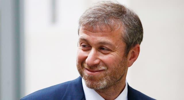 Суспільство Запитання-цікавинка: Хто такий Роман Абрамович?