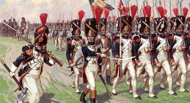 Історія Запитання-цікавинка: На які дві частини була розділена французька гвардія в 1807 році?