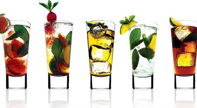 Суспільство Запитання-цікавинка: На основі якого напою готується коктейль Дайкірі?