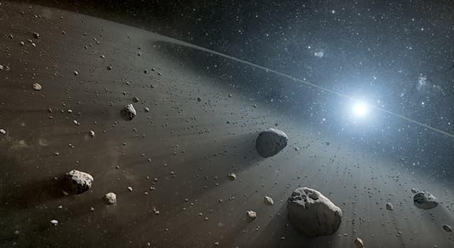 Cultura Pregunta Trivia: ¿Qué nombre recibe la región del sistema solar comprendida entre las órbitas de Marte y Júpiter?