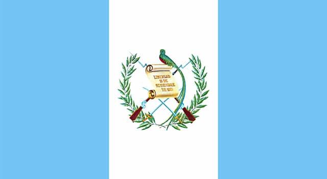Geografía Pregunta Trivia: ¿Cuál es el principal cultivo de Guatemala?